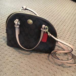 Over shoulder purse